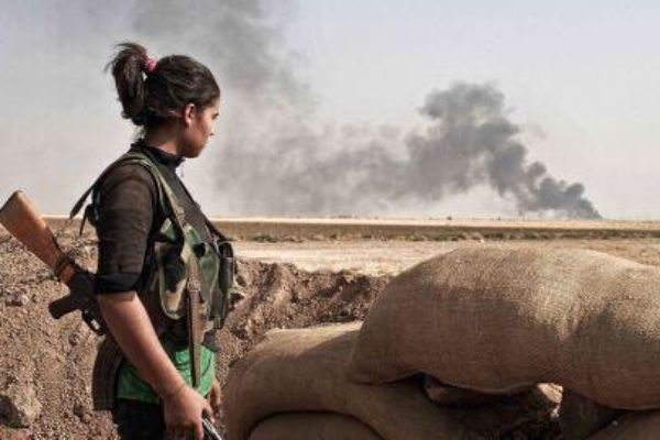 Peshmerga Women on the Frontline